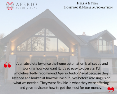 27 Marketing Case study testimonial Bristol Aperio Audio Visual home automation